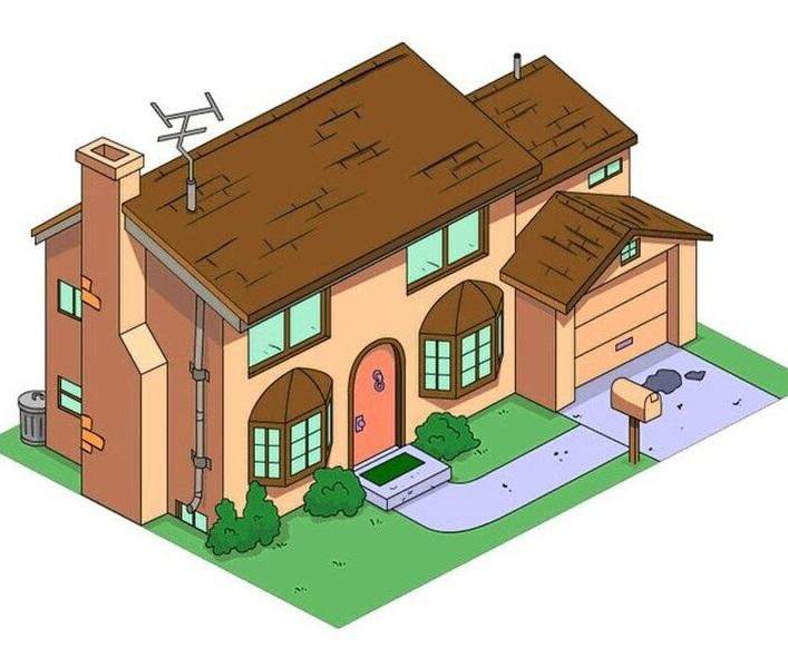Best Free 3d Home Design Software 2015: 3D Print Your Own Replica Of The Simpsons' House Thanks To