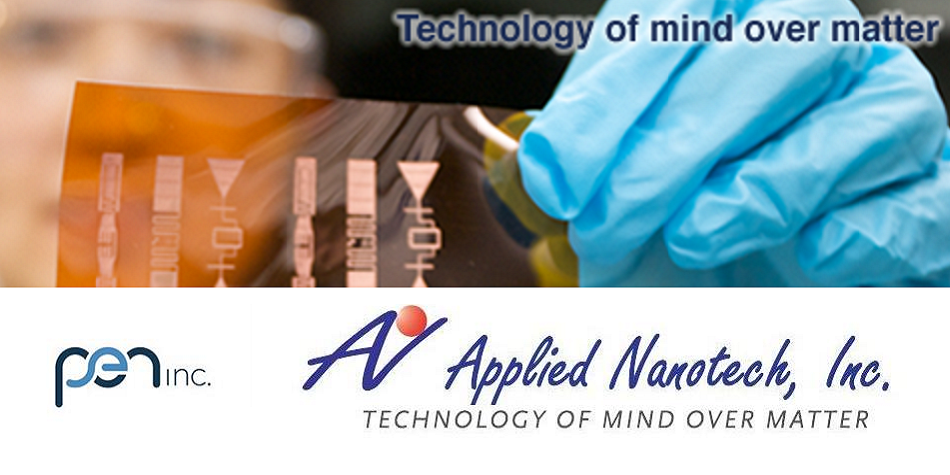 PEN, Inc. Researchers Modify Award-Winning 2D Materials to Make Inkjet Nano-Copper Ink for 3D Printing with Electronics