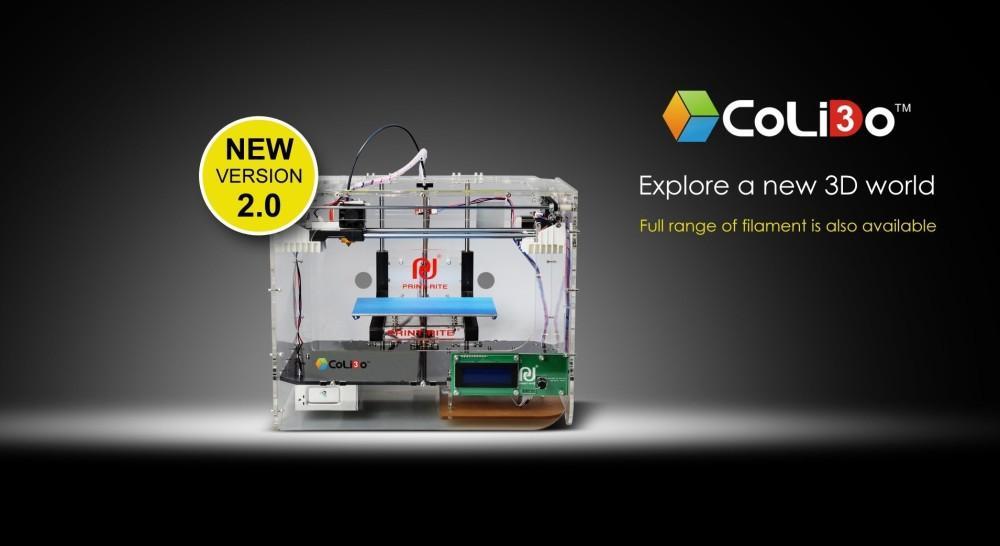 The CoLiDo 2.0+ 3D printer.