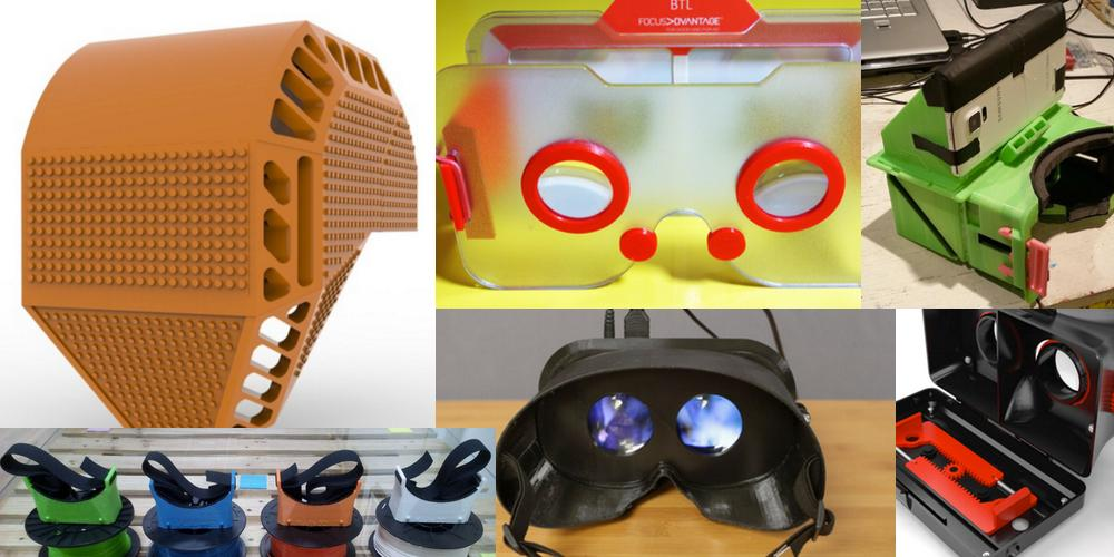 Weekly Roundup: Ten 3D Printable Things - Virtual Reality Headsets