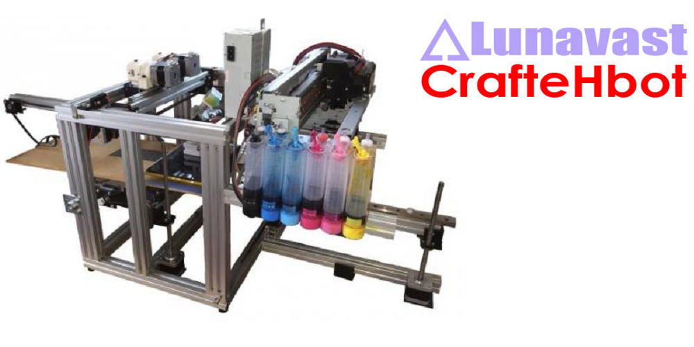Hack Much? Lunavest Offers CrafteHbot Full Color 3D Printer DIY Kit, You Attach 2D Inkjet Printer