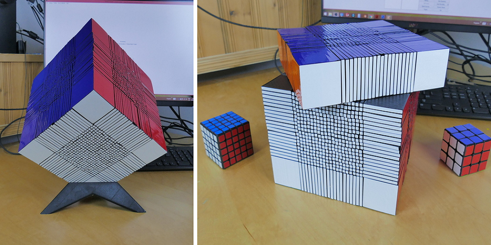 Large 3D Printed Rubik's Cube Breaks Previous World Record!