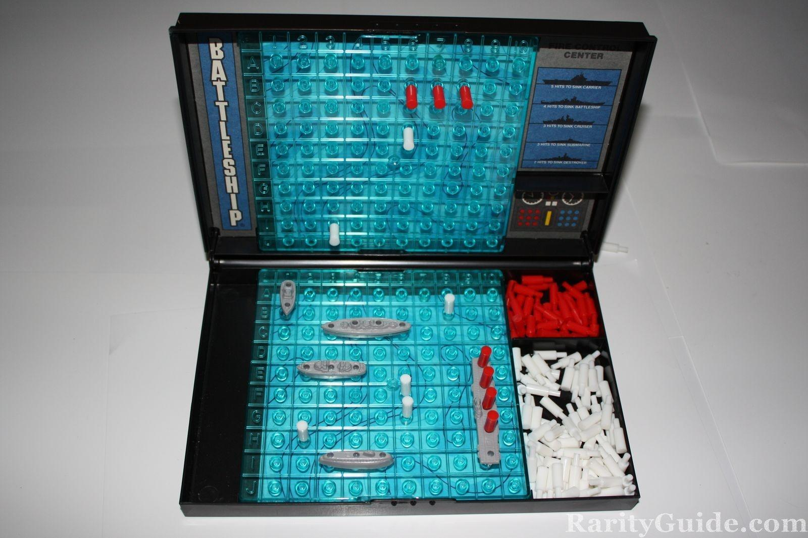 Classic Battleship Board Game Transformed into 3D