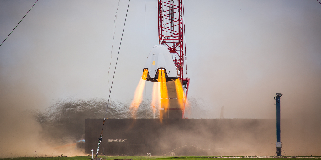 The Dragon Can Hover: SpaceX and Their 3D Printed SuperDraco Thrusters Take the Next Step Towards Propulsive Landing
