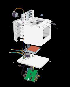 The plans for the 3D printer build by Buildclass participants.