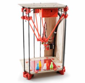 A basic Rostock Delta 3D Printer.