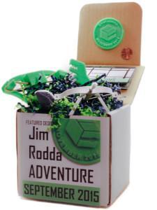 "The ""Jim Rodda Adventure"" box."