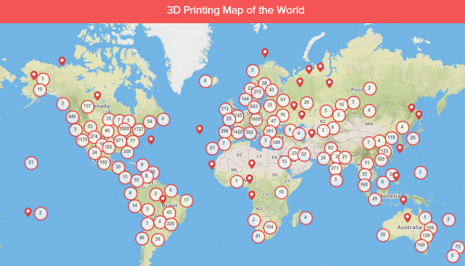 3D Hubs Releases Worldwide 3D Printing Trends Report for February 2016