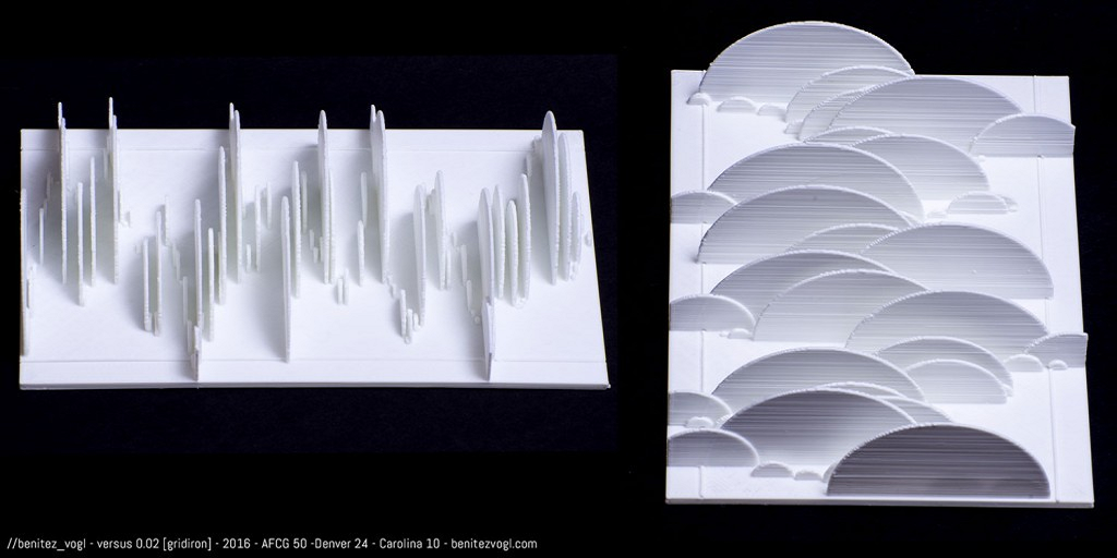 Artist Duo 3D Prints the Super Bowl, But It Doesn't Look Like You'd Expect
