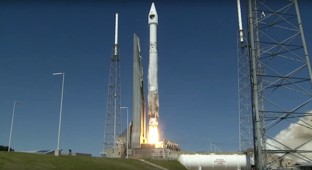 Atlas V rocket with 3D printed parts successfully launched from Cape Canaveral Air Force Station in Florida on March 23rd.
