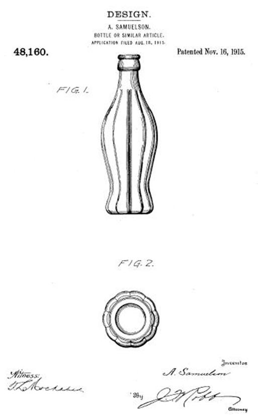 Coke Bottle Patent