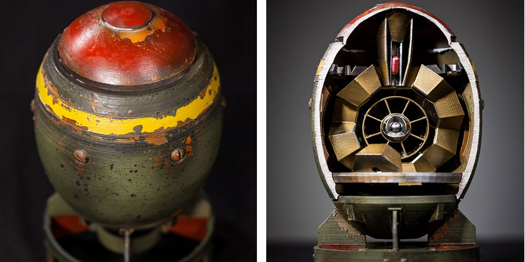 Celebrate Fallout 4 with Festive 3D Printed Mini-Nukes