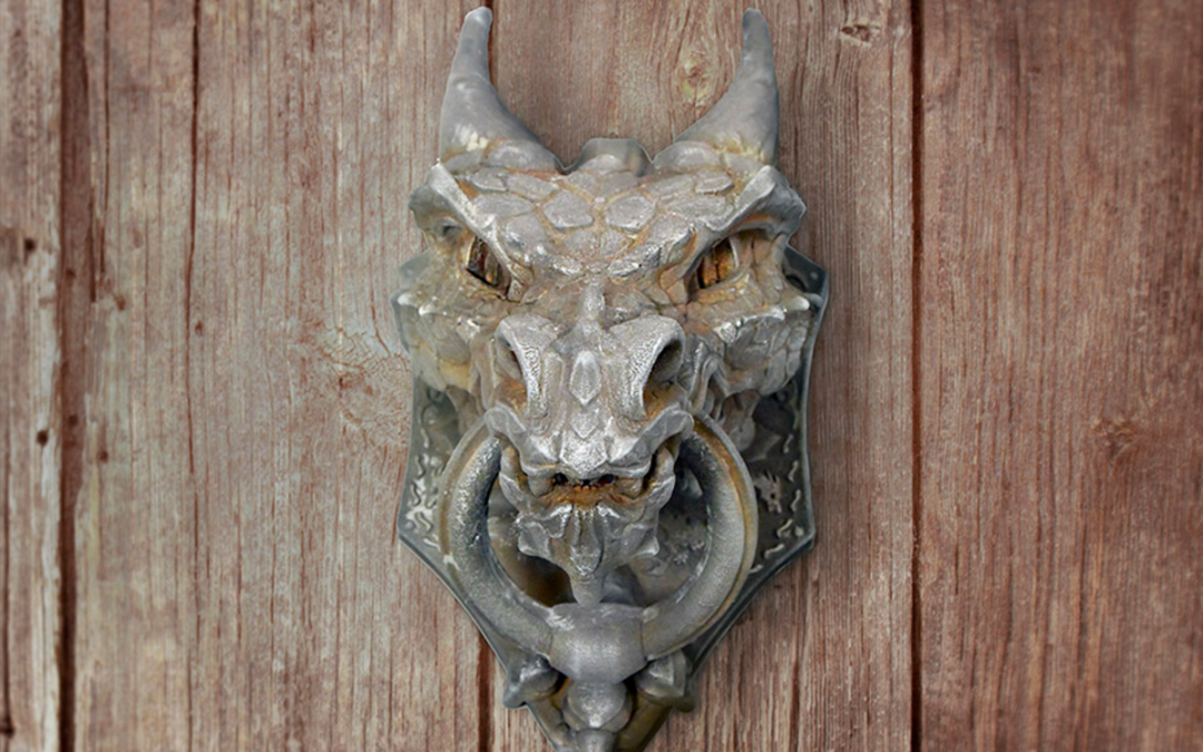 Learn to Make an Amazing 3D Printed Dragon Door Knocker with a Rusty Metallic Finish