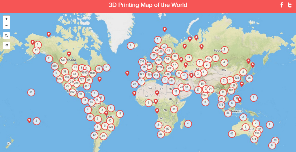 3D Hubs Releases Worldwide 3D Printing Trends Report for April 2016