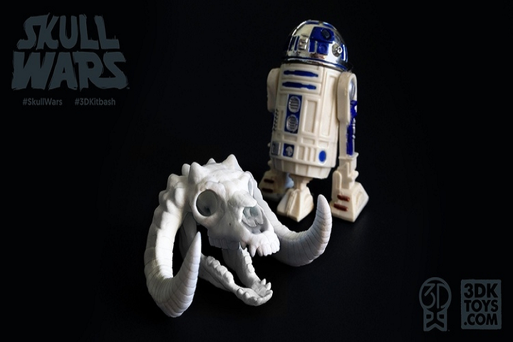 May the 4th be with You as 3DKitbash Returns With Skull Wars!