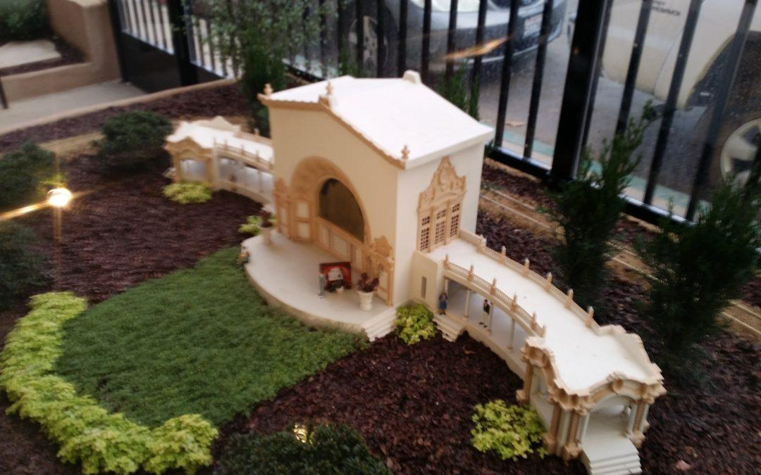 Designer 3D Prints Decorative Facades for New Exhibit at San Diego Model Railroad Museum