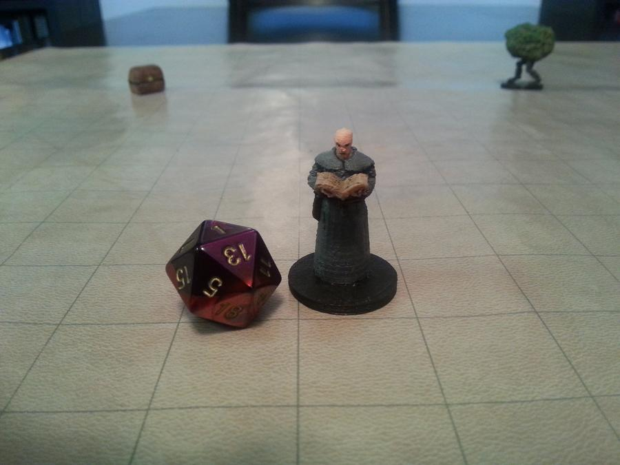the free library of 3d printable dungeons dragons miniatures is now complete 3dprintcom the voice of 3d printing additive manufacturing