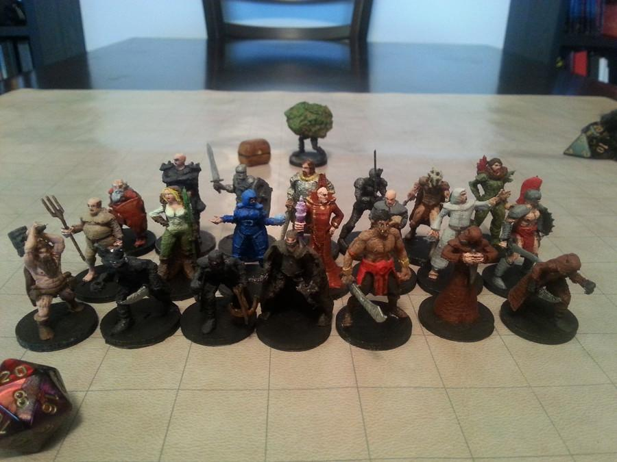 The Free Library of 3D Printable Dungeons & Dragons Miniatures is Now Complete!