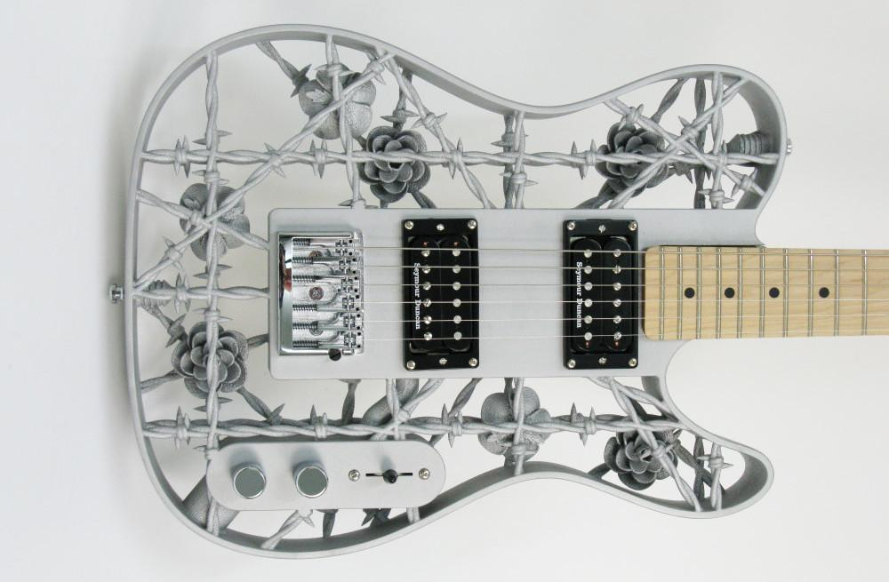 "Check Out ""Heavy Metal,"" the First Guitar 3D Printed in Aluminum"