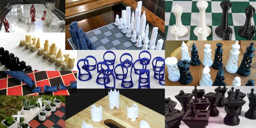 weekly roundup ten 3d printable chess sets