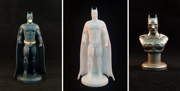Adaptable image throughout 3d printable figures