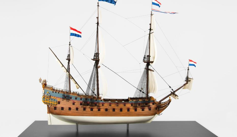 17th Century Dutch Warship with 80 Guns Recreated in 3D Print with Materialise at the Helm