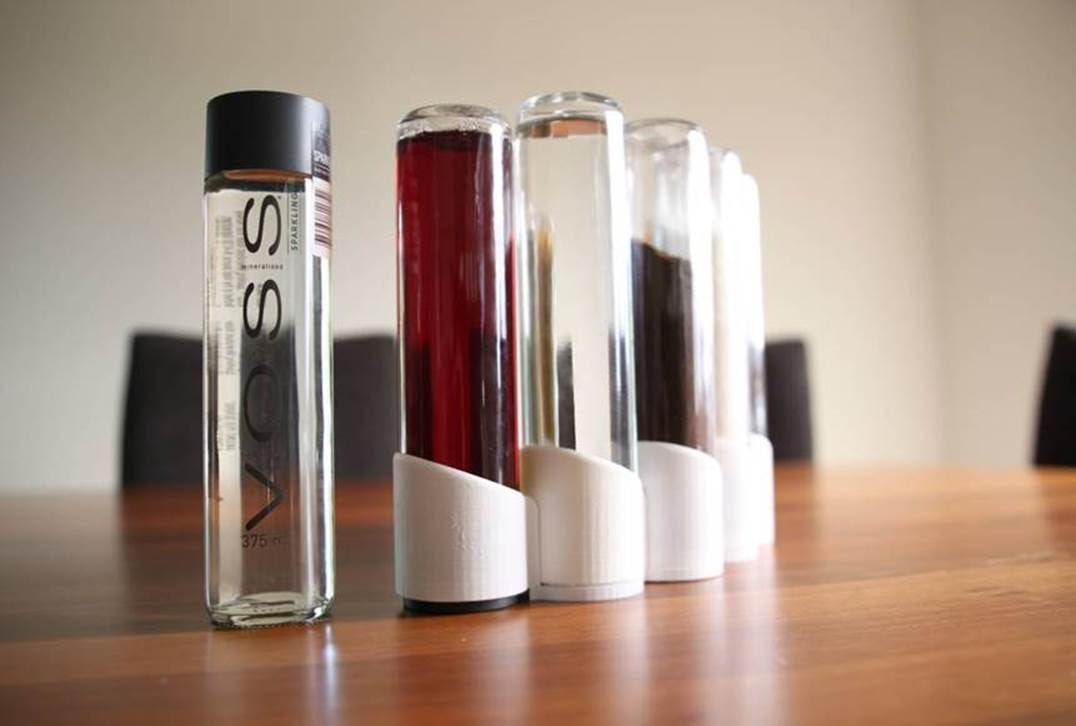 Don't Ban the Bottle Yet: 3D Print This Elegant Voss Storage System From Avooq