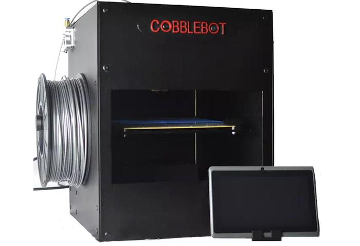It's Baaaaaack: Crowdfunding Disaster Cobblebot Launches and Then Cancels a New 3D Printer Kickstarter Campaign
