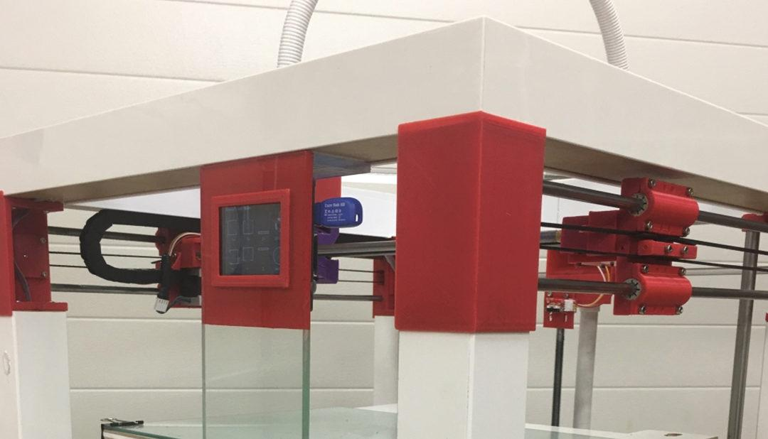 Dude, Awesome Lack Hack: Maker in the UK Designs Large Format 3D Printer with IKEA Table