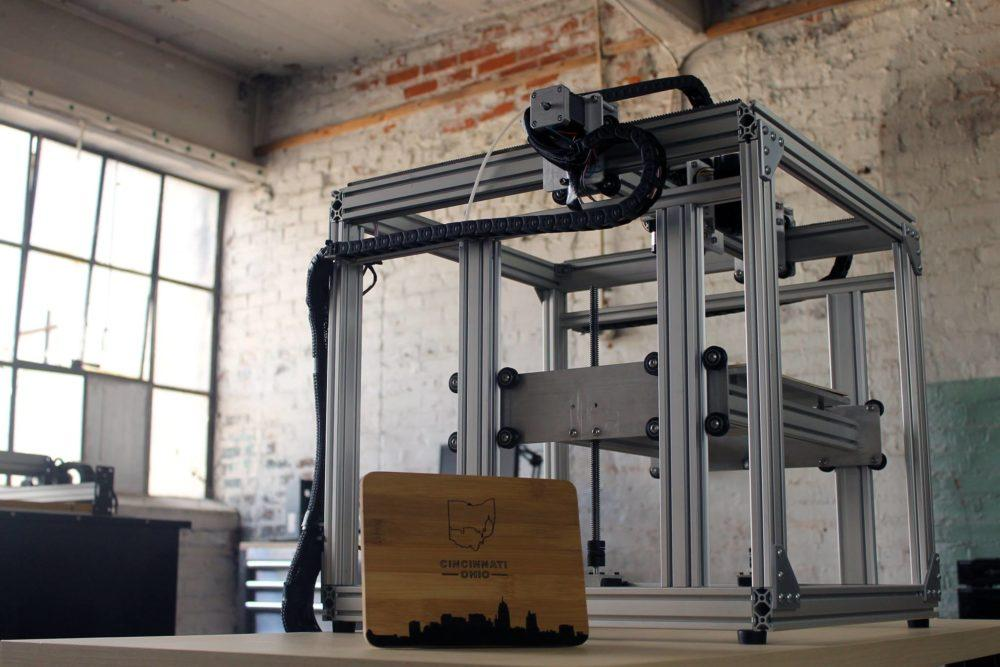 Versa3D Desktop Fabrication Machine.