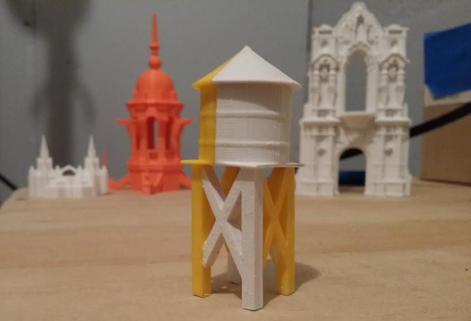 graphic about Printable Model Railroad Buildings named The San Diego Fashion Railroad Museum Believes 3D Printing Can
