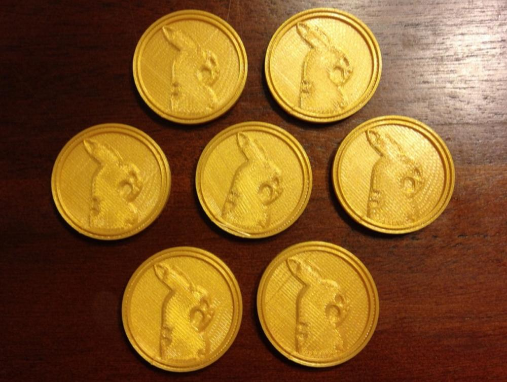 This is an image of Légend Printable Gold Coins