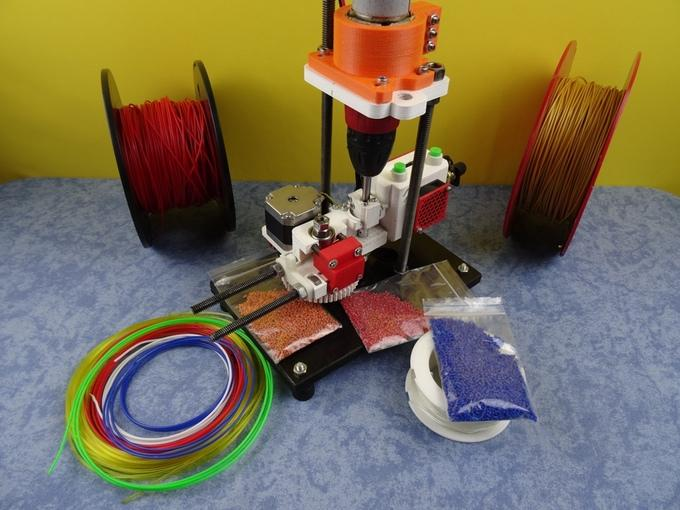 Shred-Buddy 3D Recycler Turns Your Old Filament, Bottles, and Even Fishing Line into Brand New 3D Printing Material