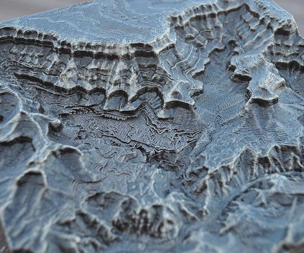 Want to Create Your Own 3D Printed Topographical Map? It's Surprisingly Easy