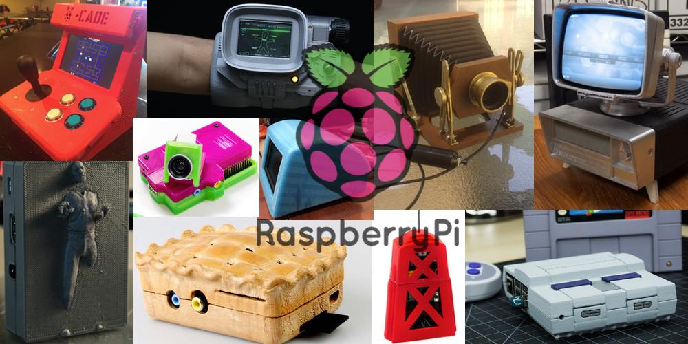 Weekly Roundup: Ten 3D Printable Things – Raspberry Pi Cases & Projects