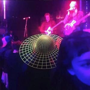 Heidi Lee wore her Vortex Sun Hat at the show