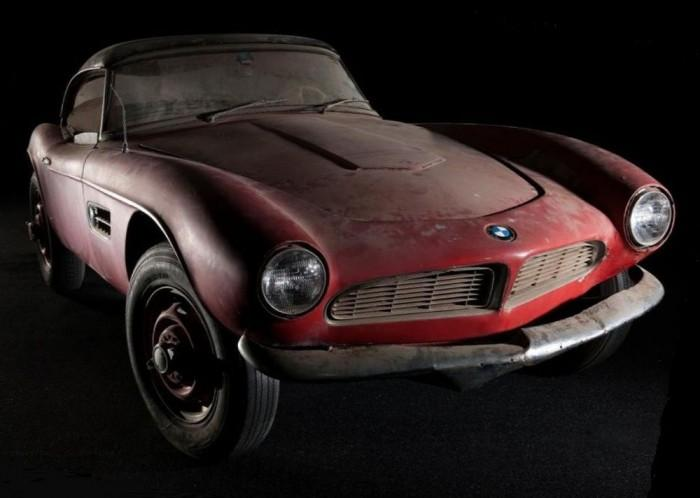 3D Printing Plays a Role as Elvis Presley's Long-Lost BMW 507 is Returned to Original Condition--And to the USA