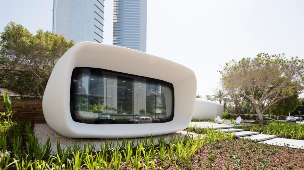 Dubai's Crown Prince Visits 3D Printed Office to Meet with Future Foundation