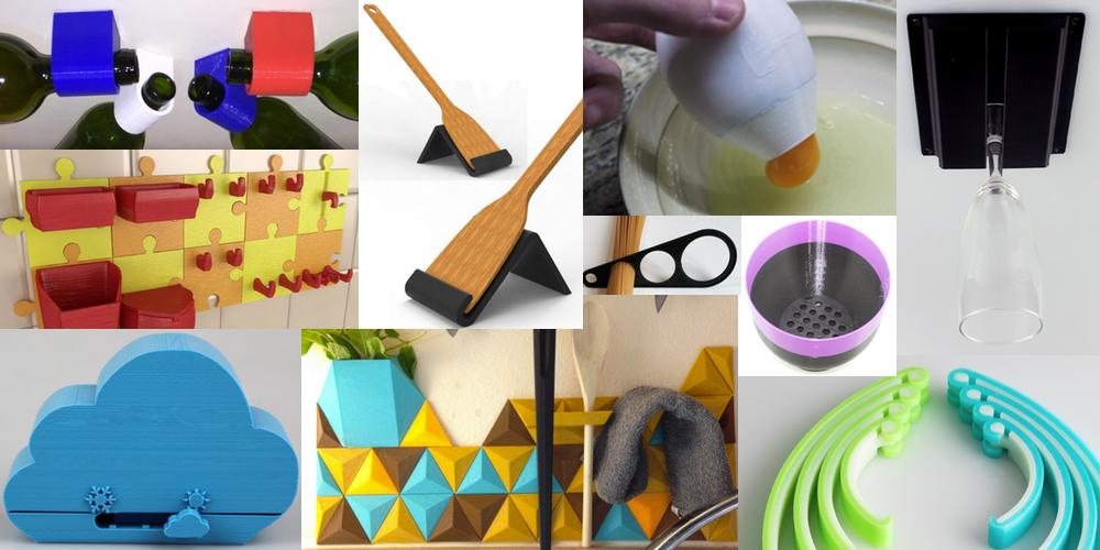 Weekly Roundup: Ten 3D Printable Kitchen Things