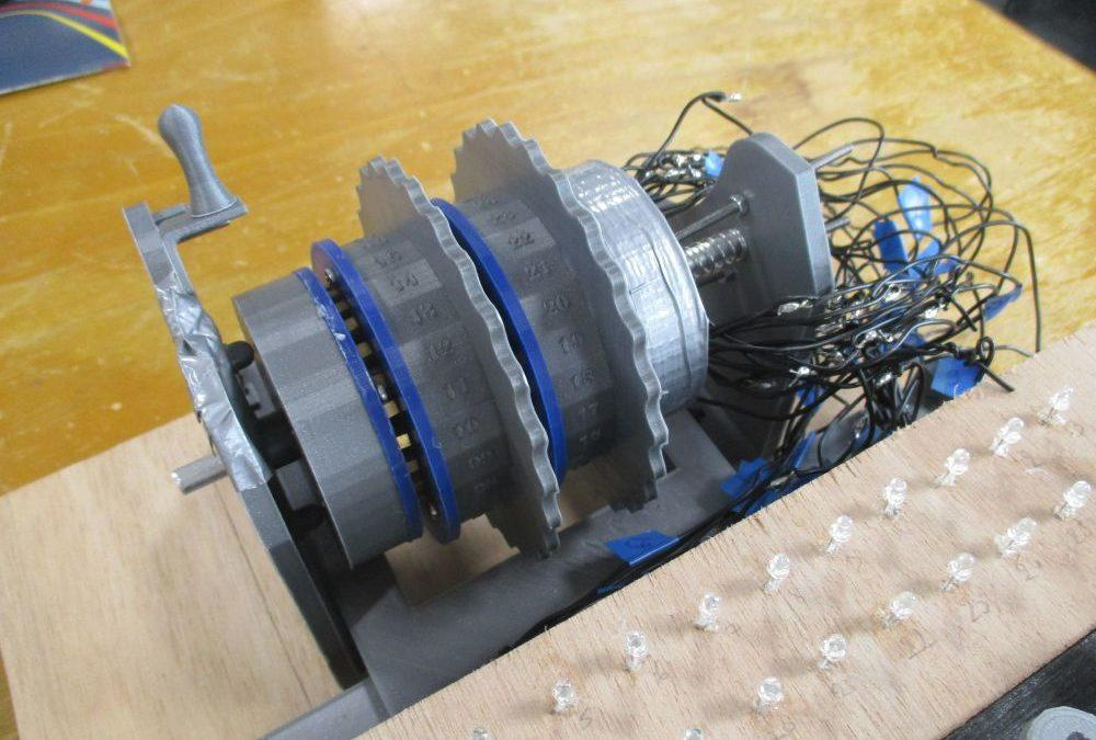 CentraleSupélec Rennes: French Students Create Functional 3D Printed Enigma Decryption Device
