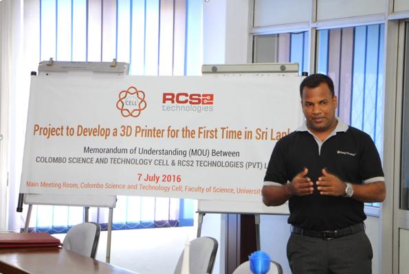 3D Printing Comes to Sri Lanka Thanks to RCS2 Technologies and Colombo University