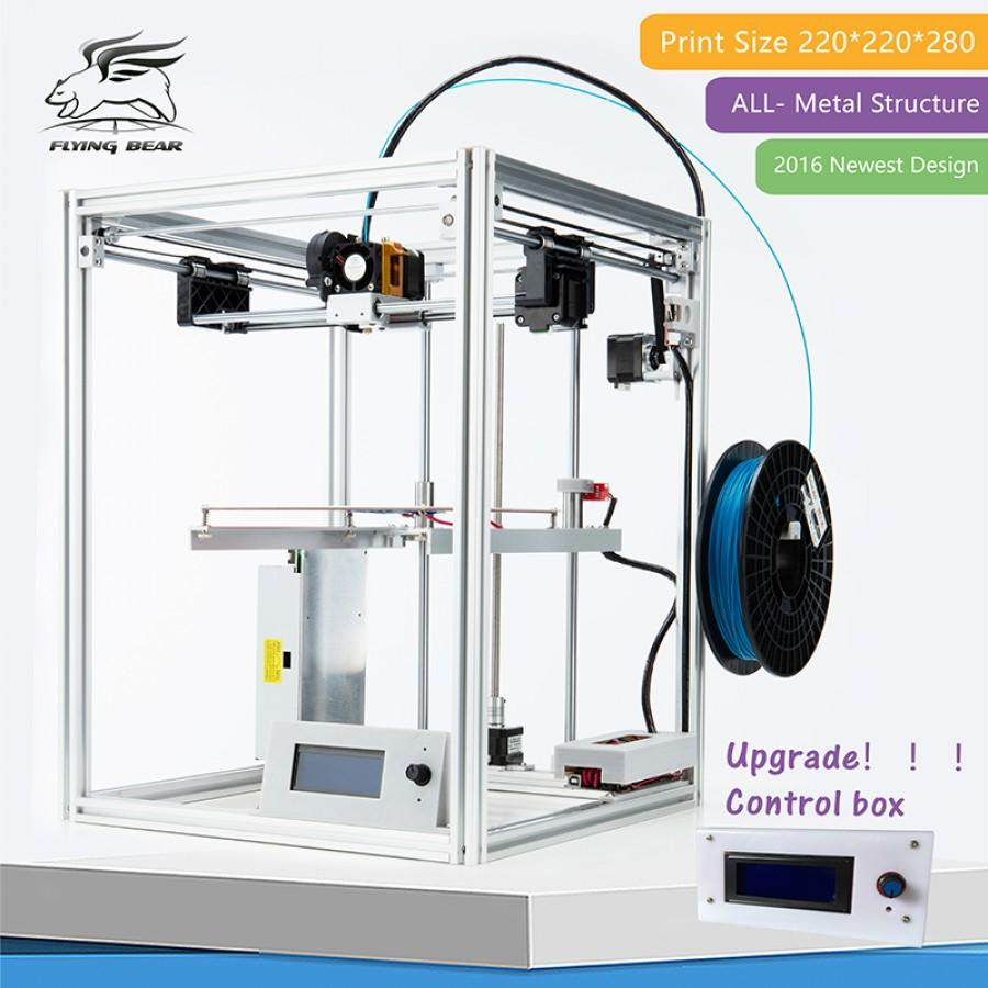 Flyingbear full metal large build size diy 3d printer kit for 3d printer build plans