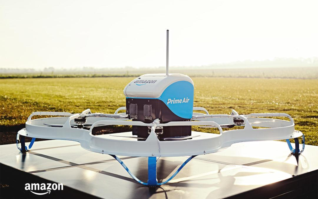 Drone Delivery from Amazon to Your Door