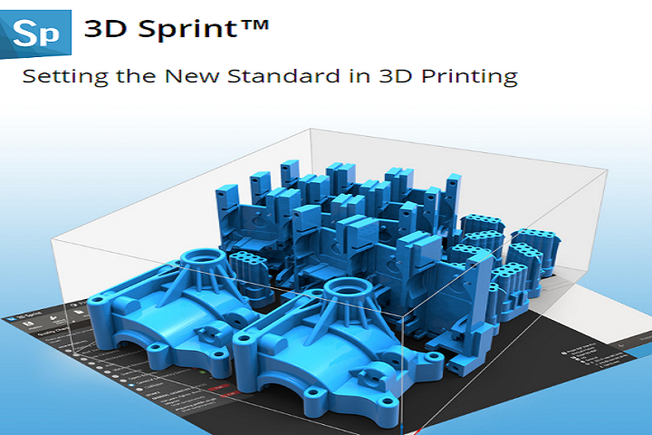 3D Systems Launches 3D Sprint 2.0 Software, Developed for Their Plastic 3D Printers