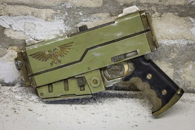 Warhammer 40K Fans! Check Out 3D Printed Weapons Celebrating Impending Release of Space Hulk – Deathwing