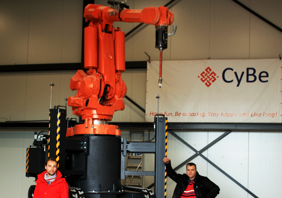 CyBe Construction Unveils New Mobile 3D Concrete Printer, the CyBe RC 3Dp