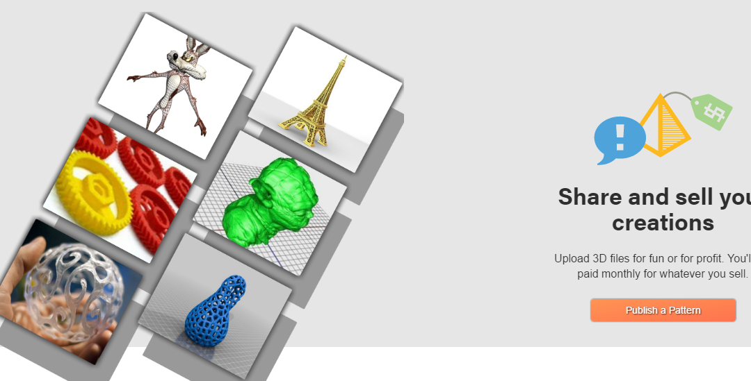 Looking to Meet Some Like-Minded People? Try PatternSpace, a New Social Network for 3D Printing Enthusiasts