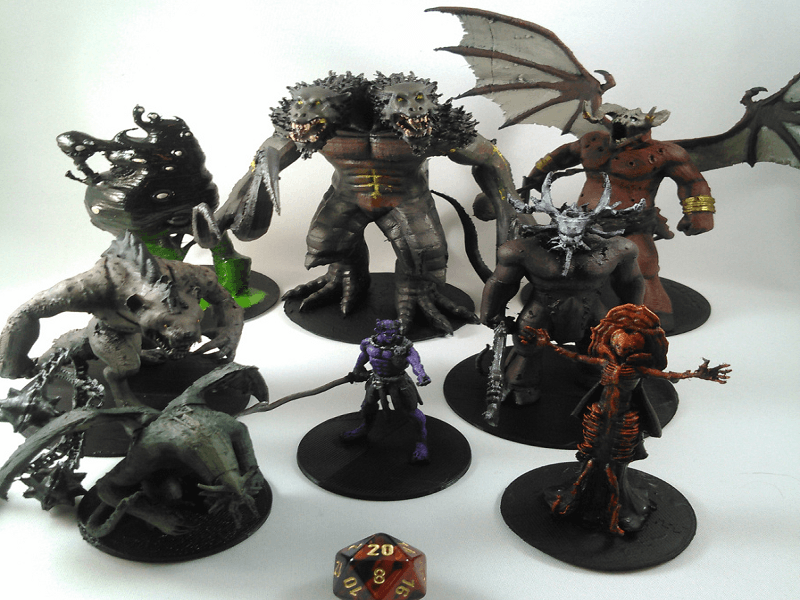 Out of the Abyss: Miguel Zavala Unveils New Dungeons & Dragons 3D Printable Model Collection