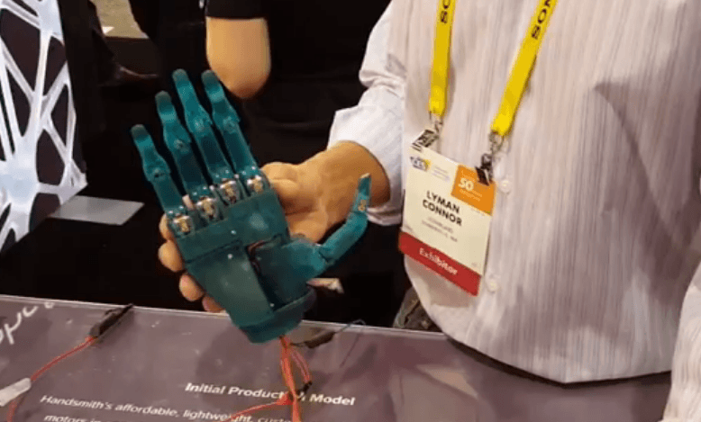 Handsmith: Bionic Hands Made Accessible Thanks to One Man's Vision — and 3D Printing