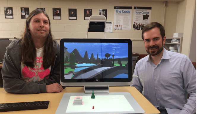 University Professors Design Educational Hybrid Video/Board Game Using HP Sprout